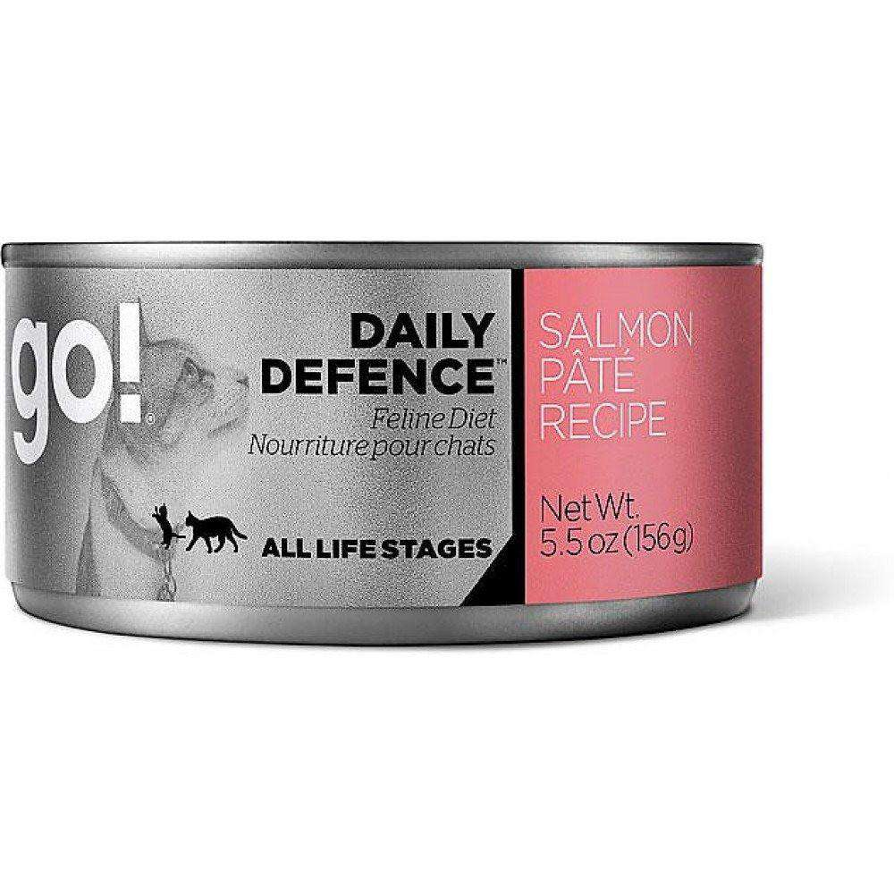 Go! Canned Cat Food Daily Defence Salmon Pate, Canned Cat Food, Petcurean - PetMax Canada