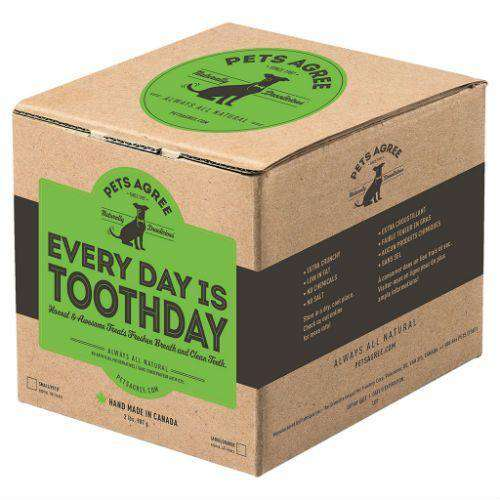 Pets Agree Dog Treats Everyday Is Tooth Day  Dog Treats - PetMax