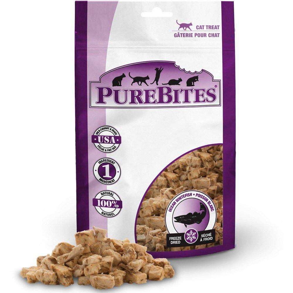Pure Bites Cat Treats Whitefish  Cat Treats - PetMax
