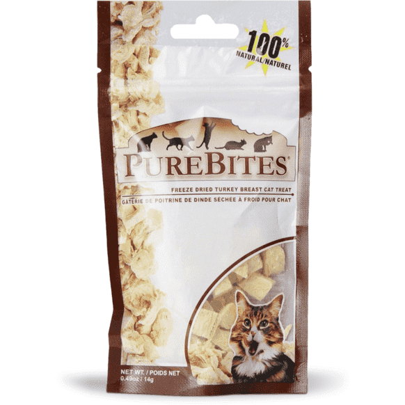 Pure Bites Cat Treats Turkey  Cat Treats - PetMax