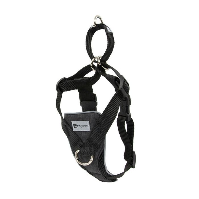 RC Pet Tempo No Pull Harness Heather Black  Harnesses - PetMax