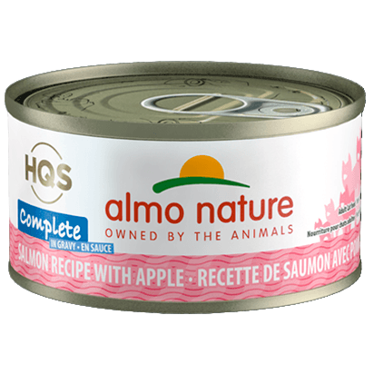 Almo Nature Complete Salmon With Apple  Canned Cat Food - PetMax