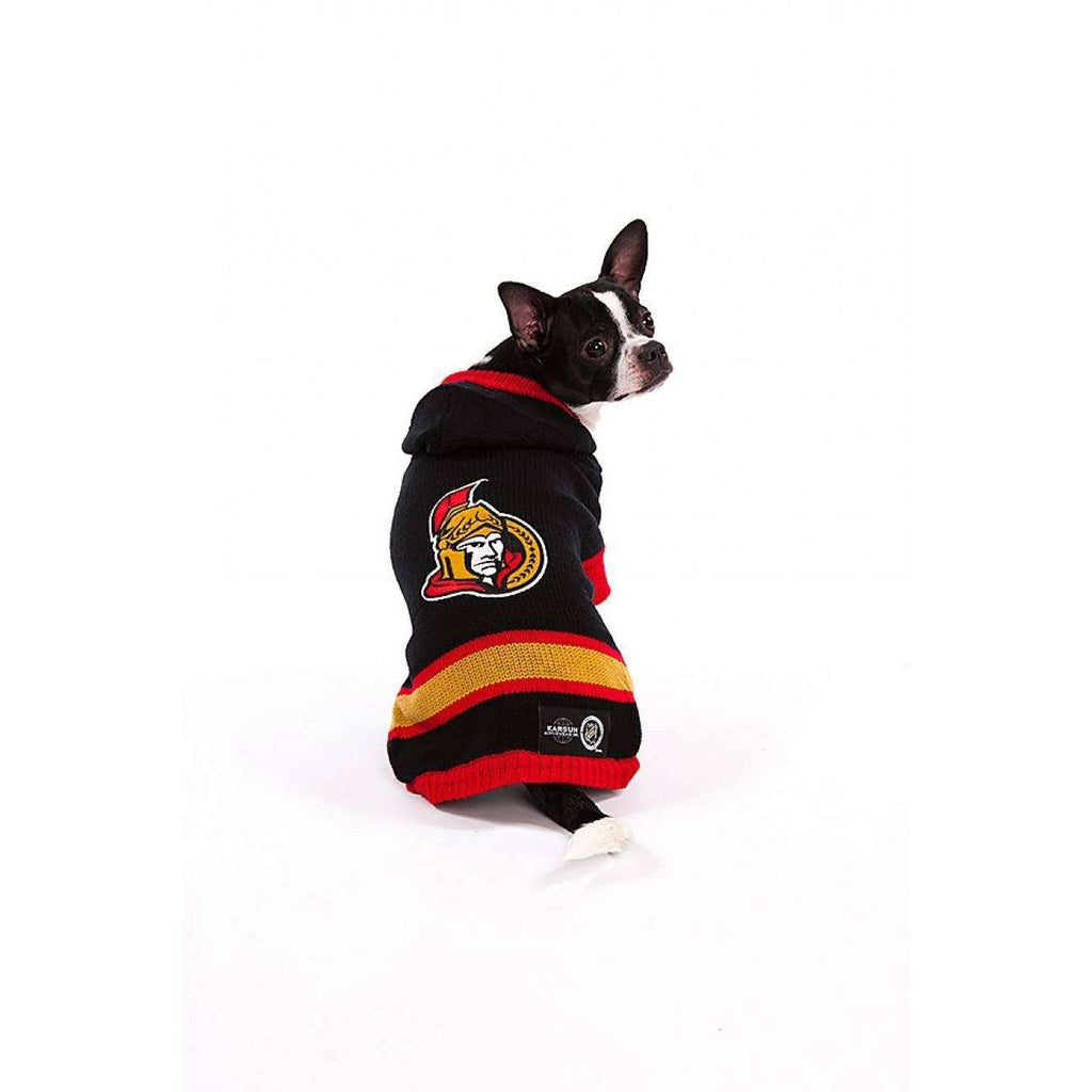 NHL Ottawa Senators Sweater | Dog Clothing -  pet-max.myshopify.com
