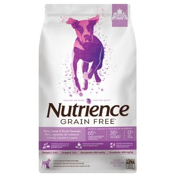Nutrience Dog Food Grain Free Pork, Lamb & Duck Formula  Dog Food - PetMax