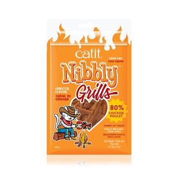 Catit Nibbly Grills Treats Chicken & Lobster  Cat Treats - PetMax