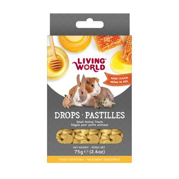 Living World Small Animal Drops Honey  Small Animal Food Treats - PetMax