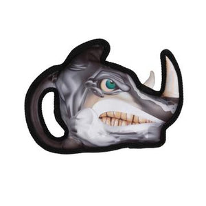 Zeus Growlers Rhino Dog Toy