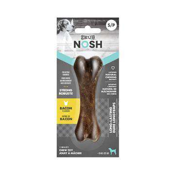 Nosh Strong Chew Bone Bacon  Chew Products - PetMax
