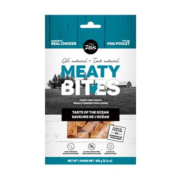 Zeus Meaty Bites Taste of the Ocean Dog Treats  Dog Treats - PetMax