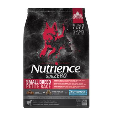 Nutrience Grain Free Dog Food Sub Zero Small Breed Prairie Red  Dog Food - PetMax