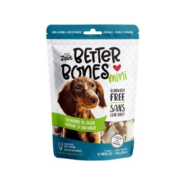 Zeus Better Bones Bone Almond Flavour Dog Treats [variant_title] [option1] - PetMax.ca
