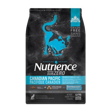 Nutrience Grain Free Cat Food Sub Zero Canadian Pacific  Dry Cat Food - PetMax