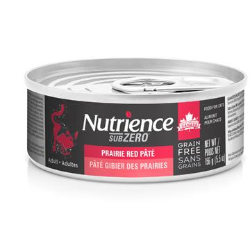 Nutrience Canned Cat Food Grain Free Subzero Pâté Prairie Red  Cat Canned Food - PetMax