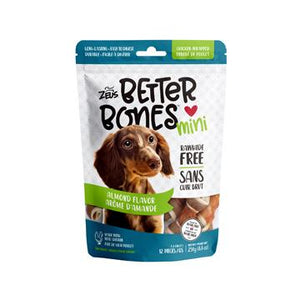 Zeus Better Bones Chicken Wrapped Almond | Dog Treats -  pet-max.myshopify.com