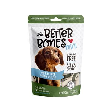 Zeus Better Bones Bone Milk Flavour Dog Treats [variant_title] [option1] - PetMax.ca