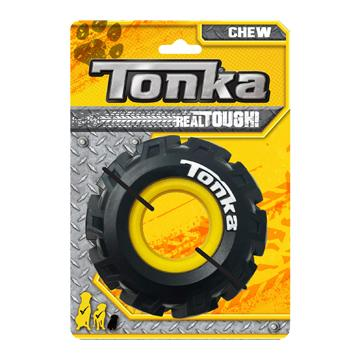 Tonka Dog Toy Seismic Tread Tire With Insert  Dog Toys - PetMax