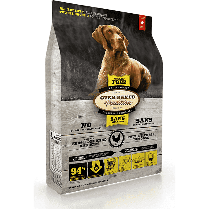 Oven Baked Tradition Dog Parallel Grain Free | Dog Food -  pet-max.myshopify.com