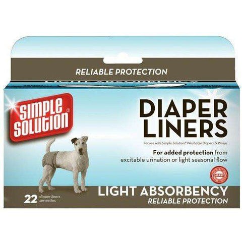 Simple Solution Diapers Liners Light Absorbency