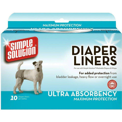 Simple Solution Diapers Liners Ultra Absorbency