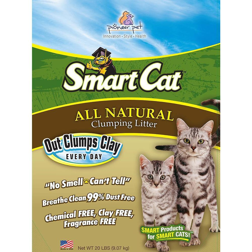 Smart Cat All Natural Clumping Litter  Cat Litter - PetMax