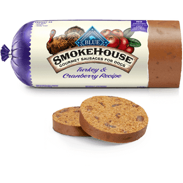 Blue Smokehouse Sausage Turkey & Cranberry, Canned Dog Food, Blue Buffalo Company - PetMax