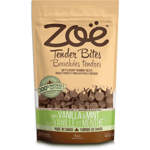 Zoe Dog Tender Bits Vanilla & Mint, Dog Treats, Rolf C Hagen Inc. - PetMax Canada