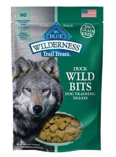 Blue Wilderness Dog Wild Bits Duck, Dog Treats, Blue Buffalo Company - PetMax Canada
