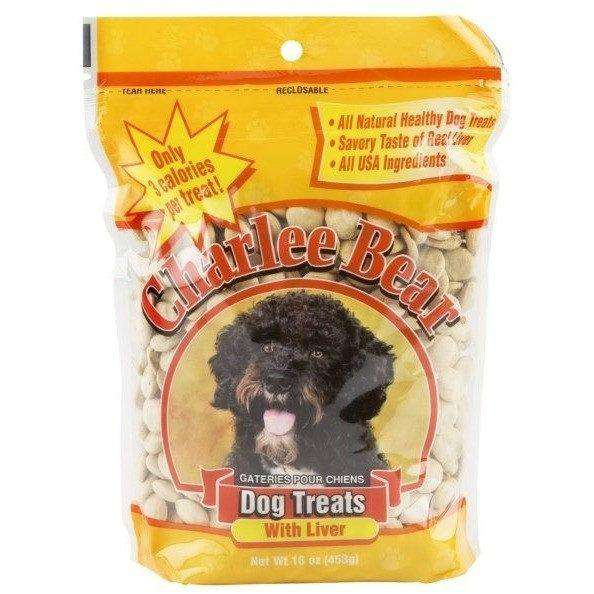 Charlee Bear Dog Treats With Liver | Dog Treats -  pet-max.myshopify.com
