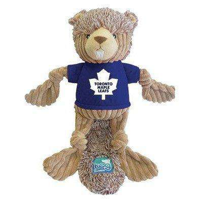 NHL Toronto Maple Leafs Plush Beaver Dog Toy, Dog Toys, Karsuh Activewear Inc. - PetMax Canada