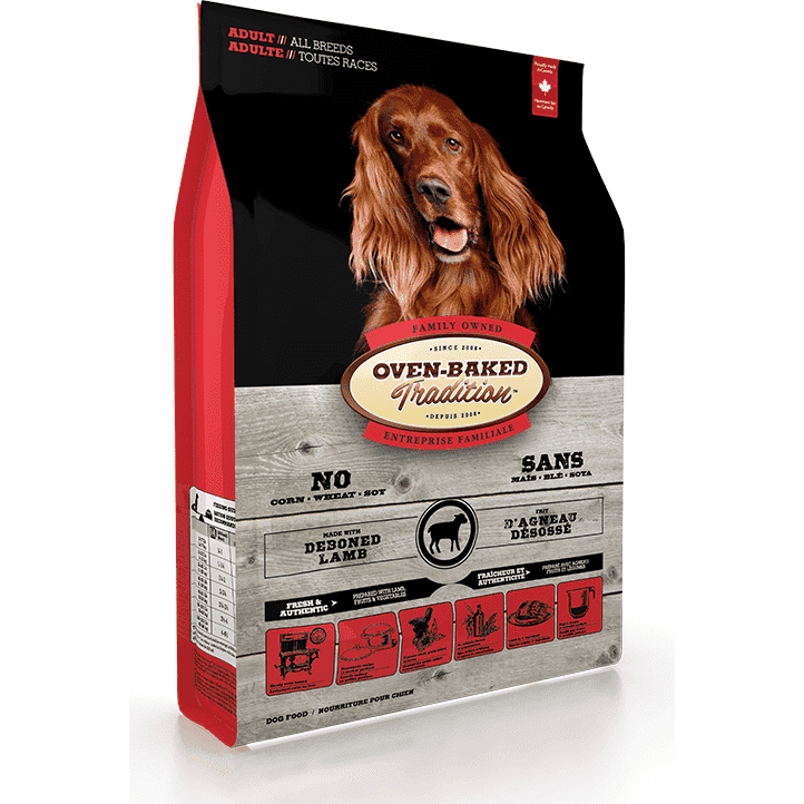 Oven Baked Tradition Dog Adult Lamb, Dog Food, Bio Biscuit Inc. - PetMax Canada