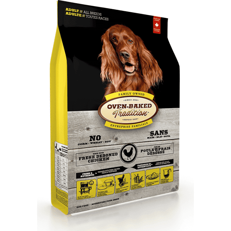 Oven Baked Tradition Adult Chicken Recipe  Dog Food - PetMax