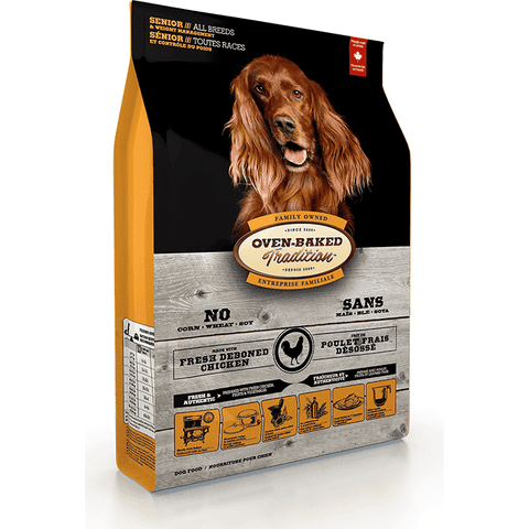 Oven Baked Tradition Dog Senior / Weight Control, Dog Food, Bio Biscuit Inc. - PetMax Canada