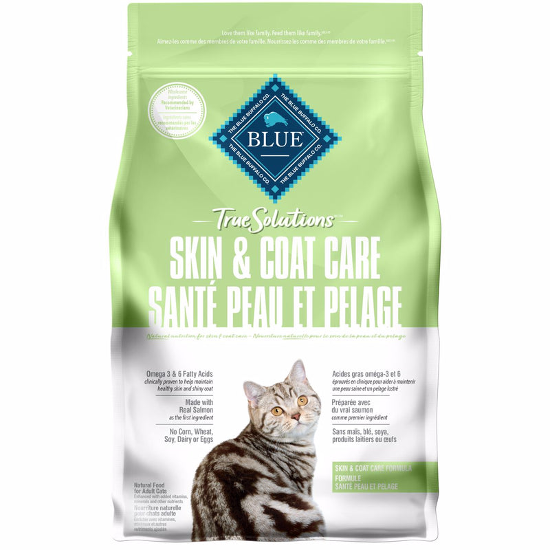 Blue True Solutions Cat Food Skin & Coat Care  Dry Cat Food - PetMax