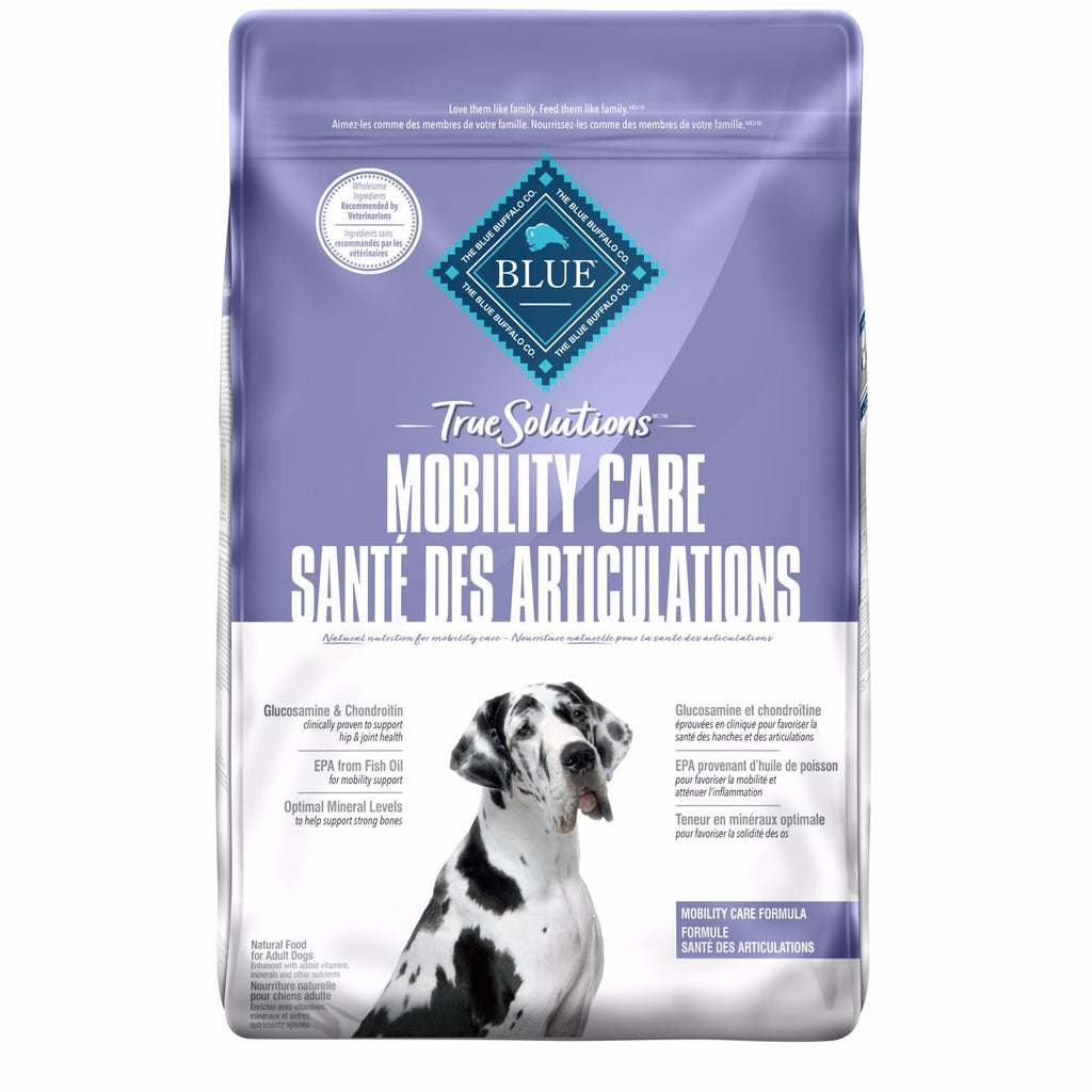 Blue True Solutions Dog Food Mobility Care 9.9 Kg 9.9 Kg | Dog Food Blue Buffalo -  PetMax.ca