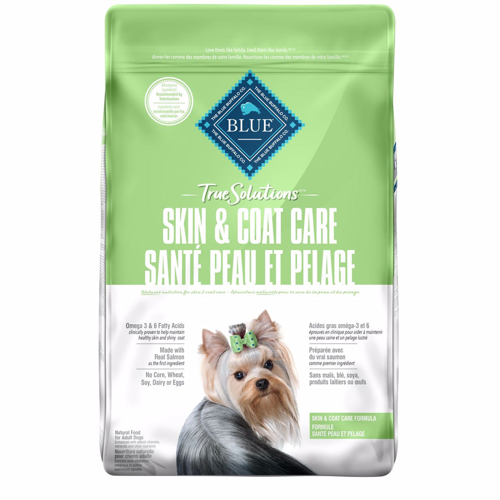 Blue True Solutions Dog Food Skin & Coat Care 9.9 Kg 9.9 Kg | Dog Food Blue Buffalo -  PetMax.ca