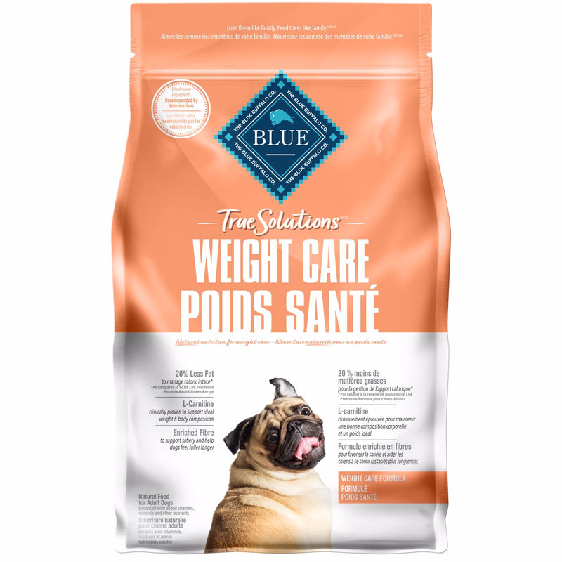 Blue True Solutions Dog Food Weight Care 2.2 Kg 2.2 Kg | Dog Food Blue Buffalo -  PetMax.ca