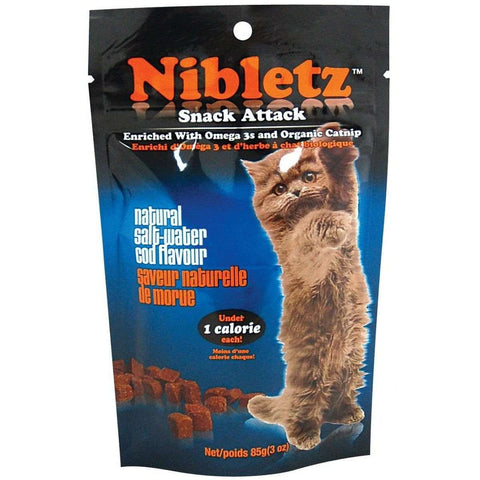 Nibletz Catnip Liver & Fish Treats For Cats, Cat Treats, Miscellaneous - PetMax