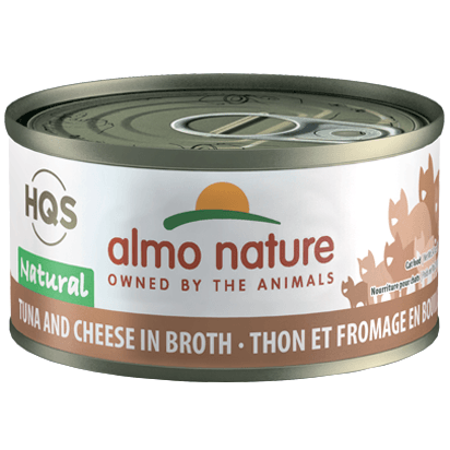 Almo Nature Natural Atlantic Tuna With Cheese  Canned Cat Food - PetMax