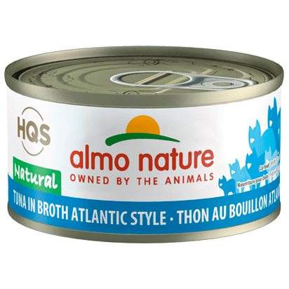 Almo Nature Natural Atlantic Tuna  Canned Cat Food - PetMax