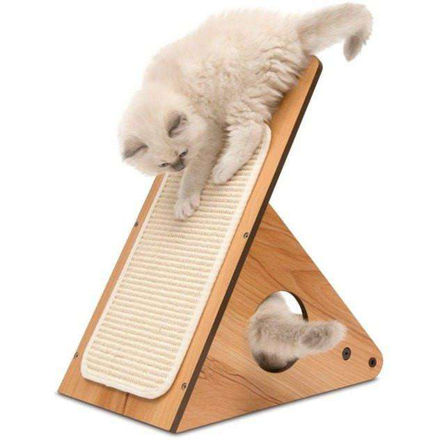 Vesper Cat Playstation Walnut  Cat Scratching Posts - PetMax