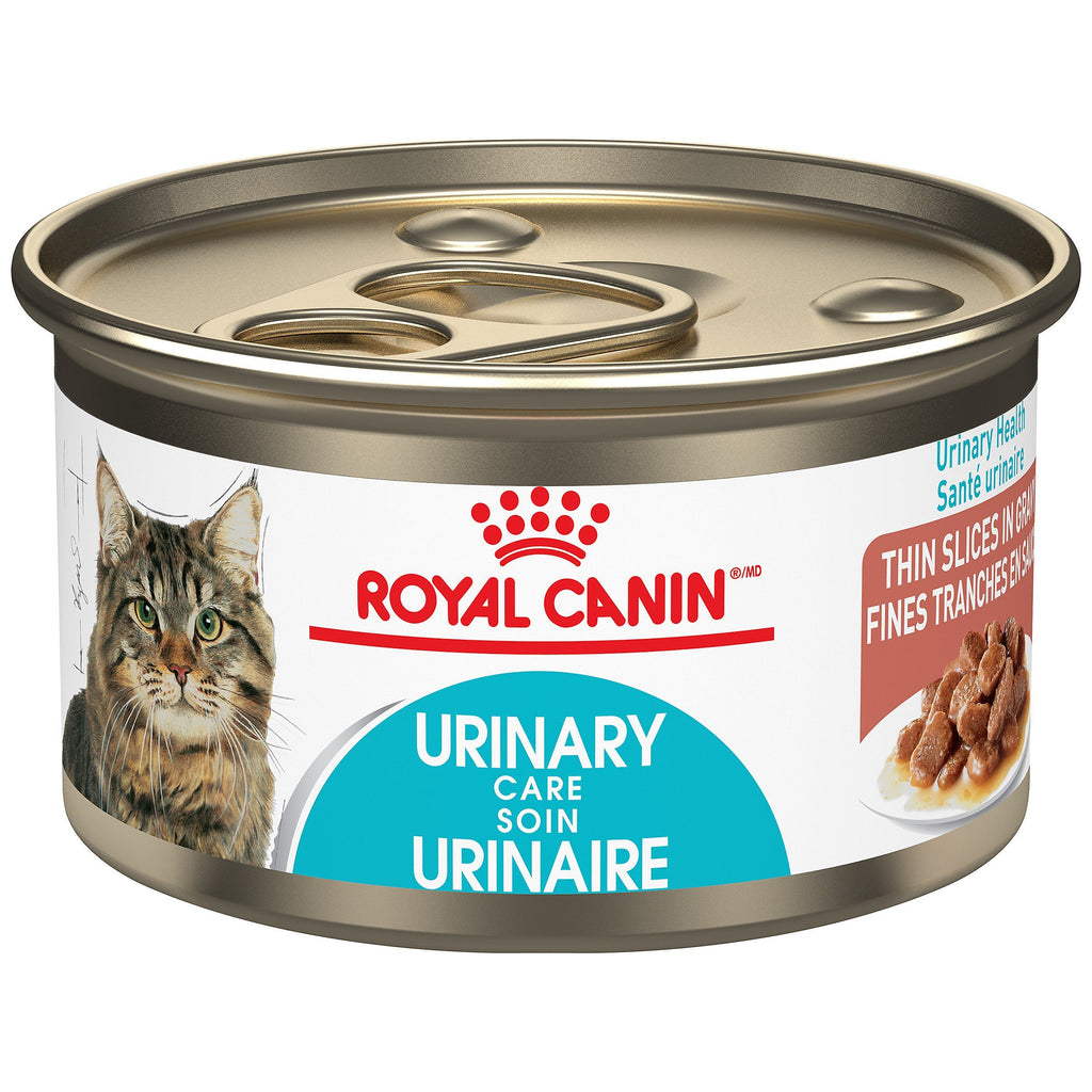 Royal Canin Canned Cat Food Urinary Care Thin Slices In Gravy  Canned Cat Food - PetMax