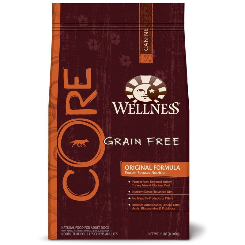Wellness Core Grain Free Dog Food Original | Dog Food -  pet-max.myshopify.com