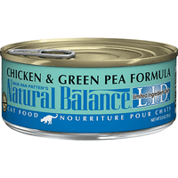 Natural Balance Canned Cat Food Chicken & Green Pea - Case of 24 | Canned Cat Food -  pet-max.myshopify.com