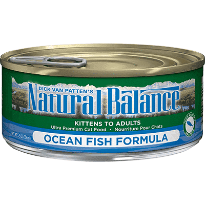 Natural Balance Canned Cat Food Oceanfish  Canned Cat Food - PetMax