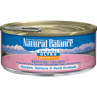 Natural Balance Canned Cat Food Reduced Calorie, Canned Cat Food, Natural Balance - PetMax Canada