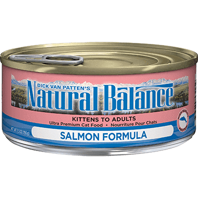 Natural Balance Canned Cat Food Salmon  Canned Cat Food - PetMax