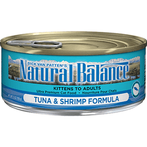 Natural Balance Canned Cat Food Tuna With Shrimp  Canned Cat Food - PetMax