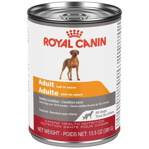 Royal Canin Canned Dog Food Adult Loaf In Sauce  Canned Dog Food - PetMax