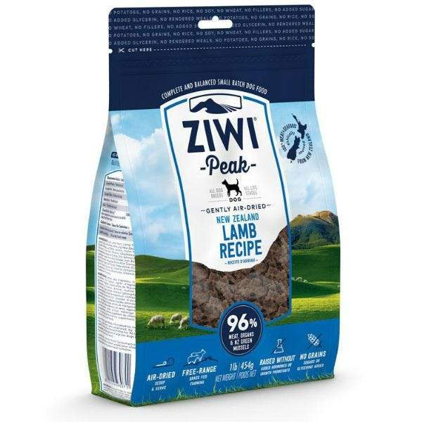 Ziwi Peak Air Dried Lamb Dog Food  Dog Food - PetMax