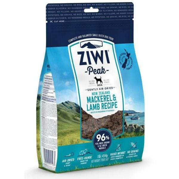 Ziwi Peak Air Dried Mackerel & Lamb Dog Food  Dog Food - PetMax